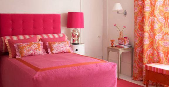 Fotos ideas para decorar casas for Dormitorio rosa