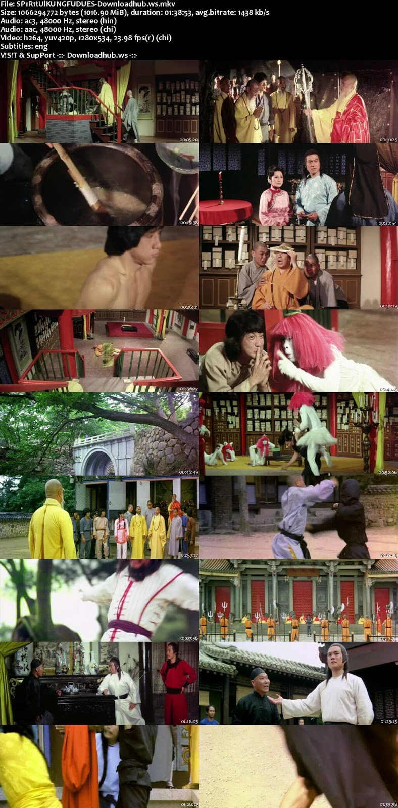 Spiritual Kung Fu 1978 Hindi Dual Audio 720p BluRay Free Download