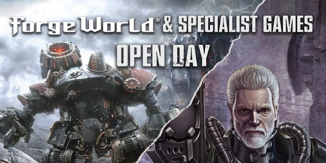 Forge World & Specialist Games Open Day 2018