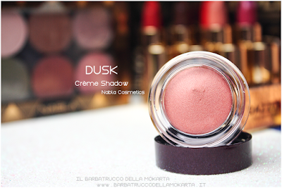 DUSK recensione  creme shadow  goldust collection Nabla cosmetics