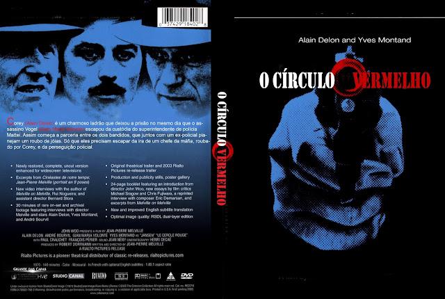 Capa DVD O Círculo Vermelho
