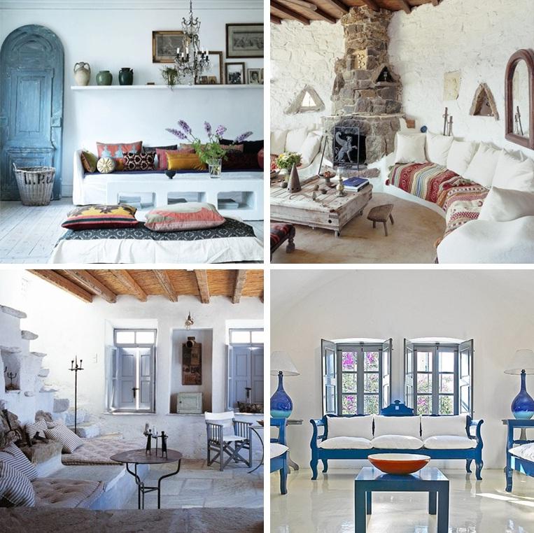 Peachy Greek Home Decor Style House List Disign Inspirational Interior Design Netriciaus