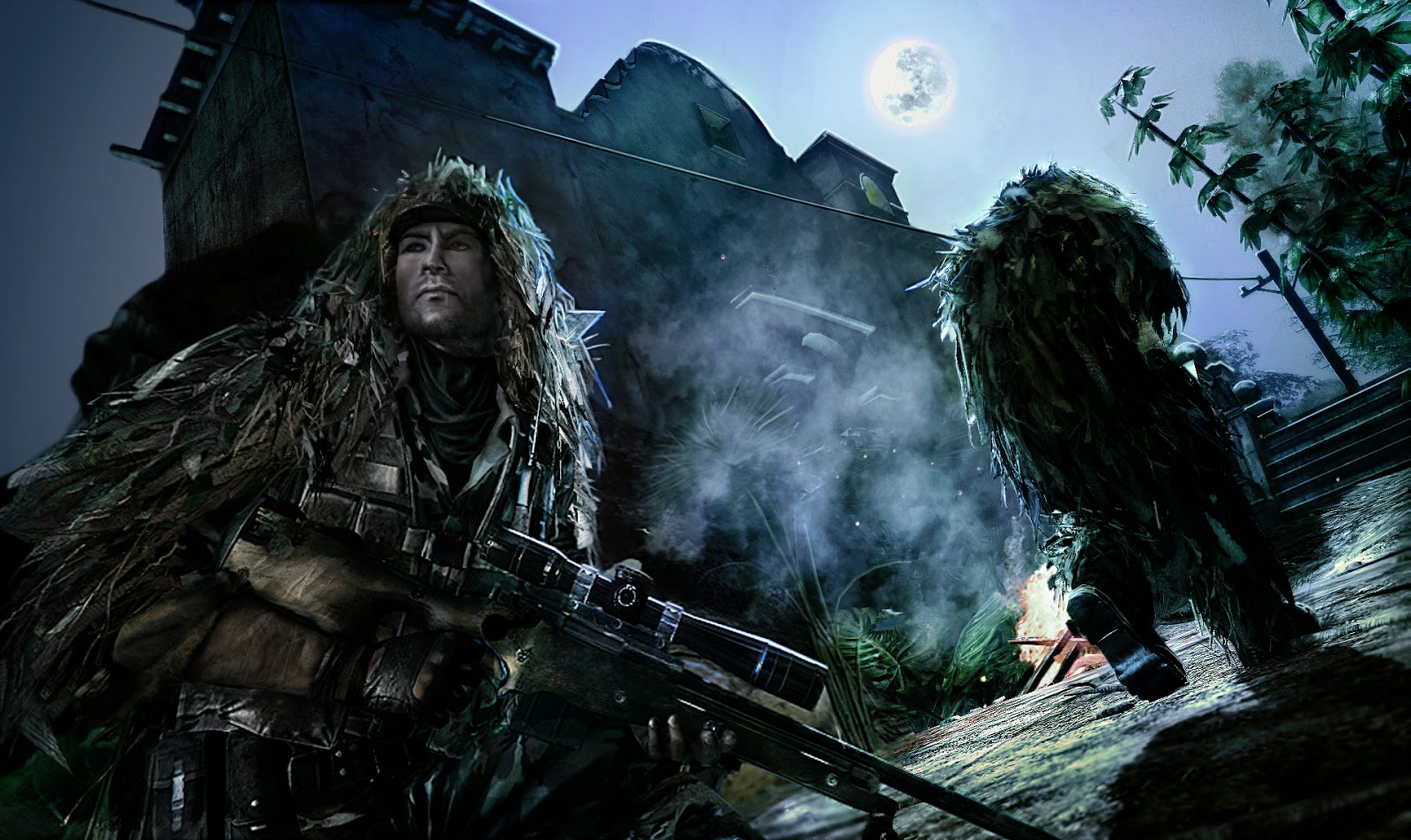 Mw2 Ghost Wallpaper Hd Wallpapers Games Sniper Ghost Warrior 2 พื้นที่ Download