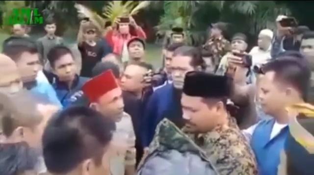 Massa Tolak GP Ansor: Jangan Ajari Kami Orang Melayu Ini Bagaimana Cinta NKRI !