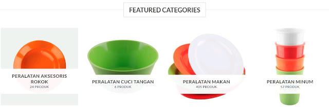 Jual Peralatan Makan Terlengkap dan Termurah di MelamieMall.com