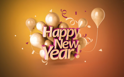 Happy New Year 3D Wallpaper Download 2017