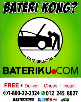 Bateri Kereta Kong, Jangan Risau Servis Dari Bateriku.com Memang Terbaik