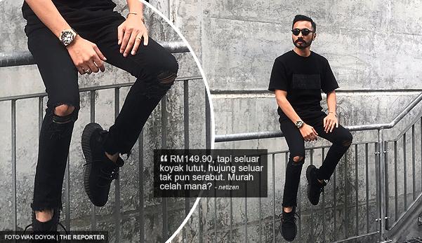 Harga pakaian RM199.80 Wak Doyok kata murah, netizen kecam kata boleh buat makan seminggu