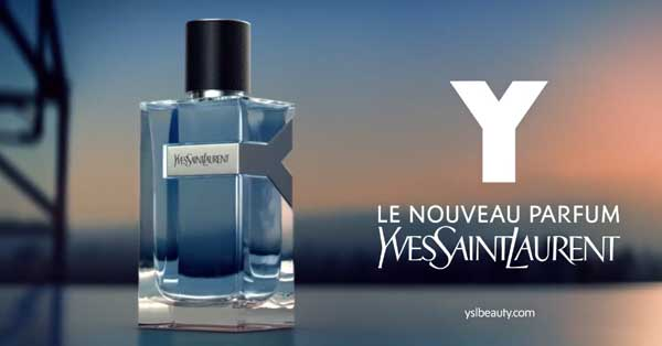 """Profitez d'un Échantillon Gratuit de la nouvelle fragrance """"Y"""" pour homme d'Yves Saint Laurent à recevoir chez vous !"""