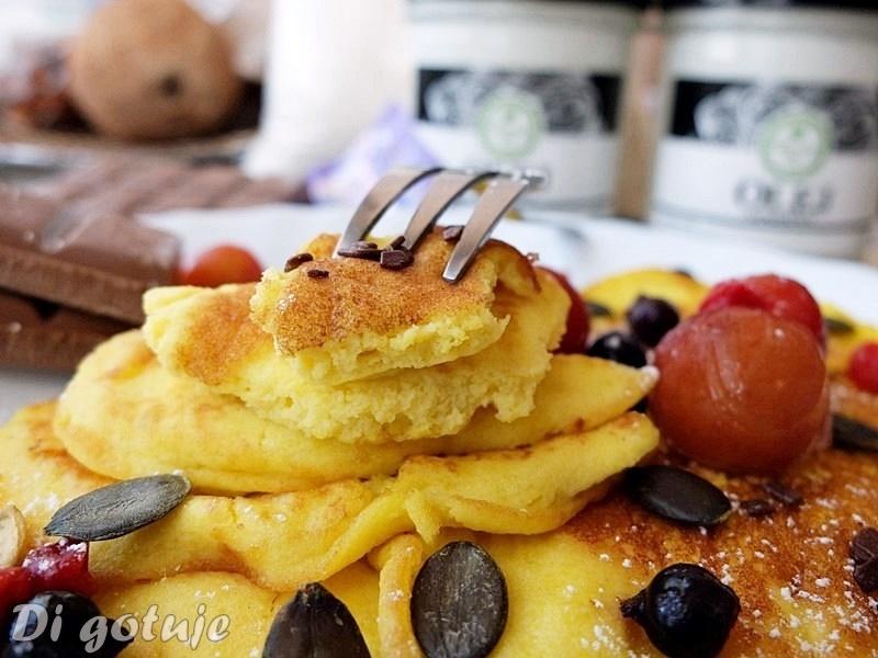 Puszyste Nalesniki Z Maki Kokosowej Gluten Free Di Bloguje