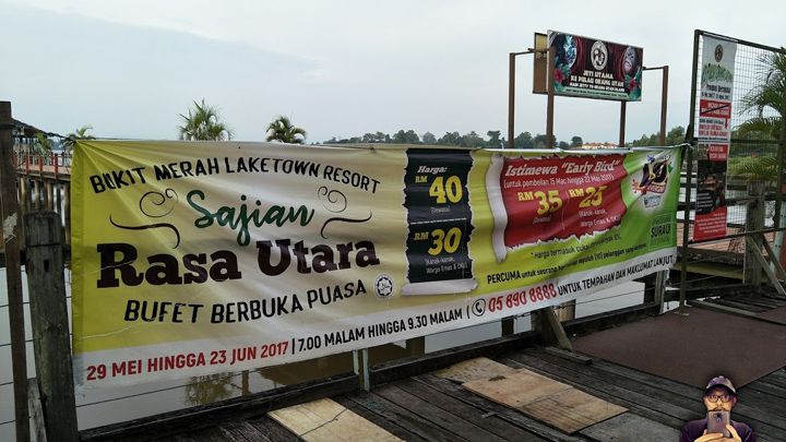 Bufet Berbuka Puasa, RM40 Satu Kepala di Bukit Merah Laketown Resort