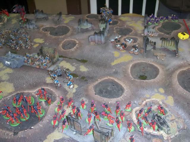Warhammer 40k battle report Orks Tyranids Surprise Assault
