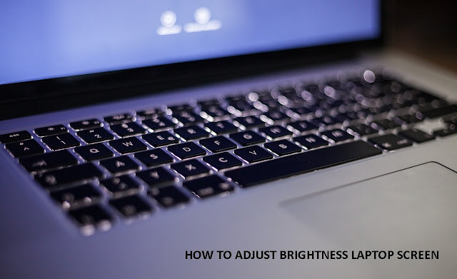 cara atur brightness kecerahan layar notebook netbook