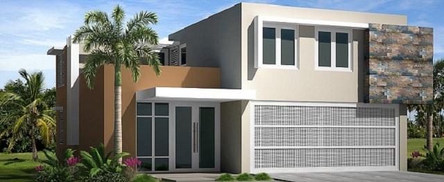 Colores para fachadas de casas modernas fachadas de for Como hacer una fachada de casa moderna