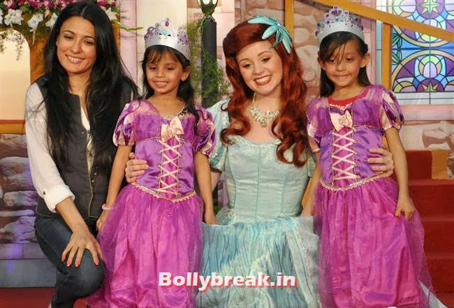 Kamya Punjabi, Indian Tv Celebs Meet Disney Princesses