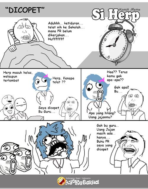 Serial Komik Meme Si Herp Dicopet Ayo Ketawa Gudangnya Humor