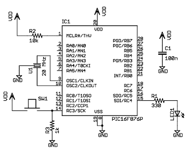 Homemade PLC: Microcontroller Selection and Schematic