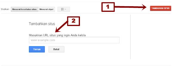 Cara Memasukan Sitemap Ke Webmaster Google Untuk Mempercepat Index