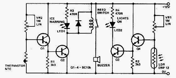 light circuit automatic led emergency light circuit using ldr