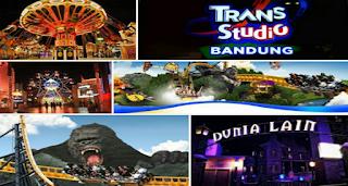lokasi wisata trans studio mall bandung
