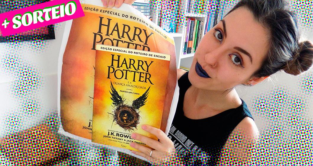 Resenha + Sorteio: Harry Potter e a Criança Amaldiçoada