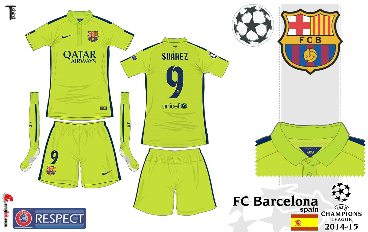 0b409d6347 Camisa do Barcelona