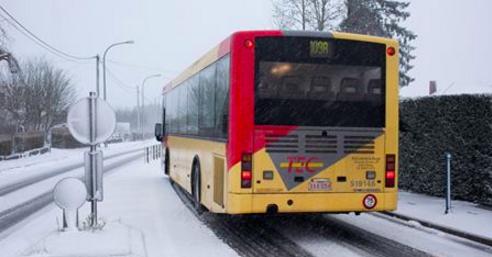 Plan intempéries: le TEC Liège-Verviers a décidé d'appliquer le niveau 1