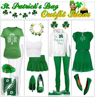 St. Patrick's Day Outfits Ideas 2018