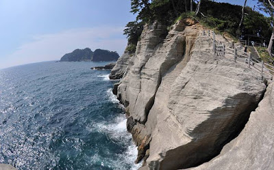 Geoparque Izu, Japón.