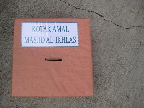 SyukriAhsani: Kotak Amal
