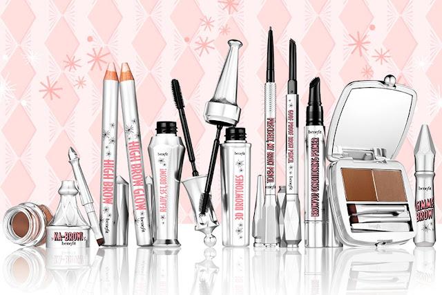 taller de maquillaje benefit linea brow