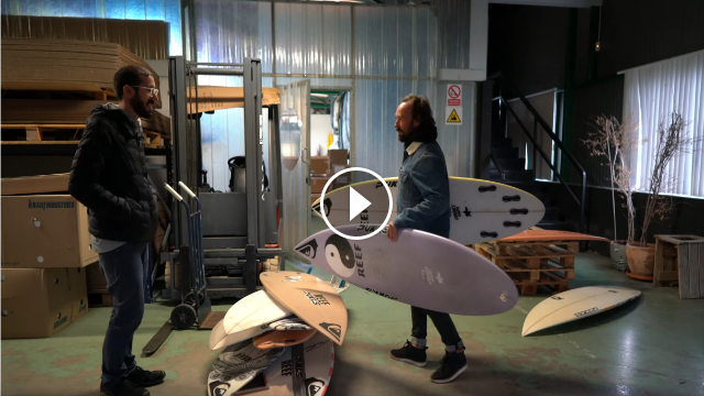 STORIES BEHIND THE SURFBOARDS by Kepa Acero