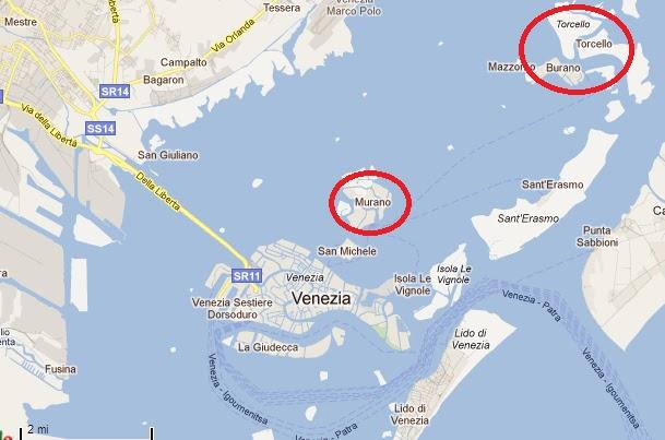 Ilha de Turcello em Veneza