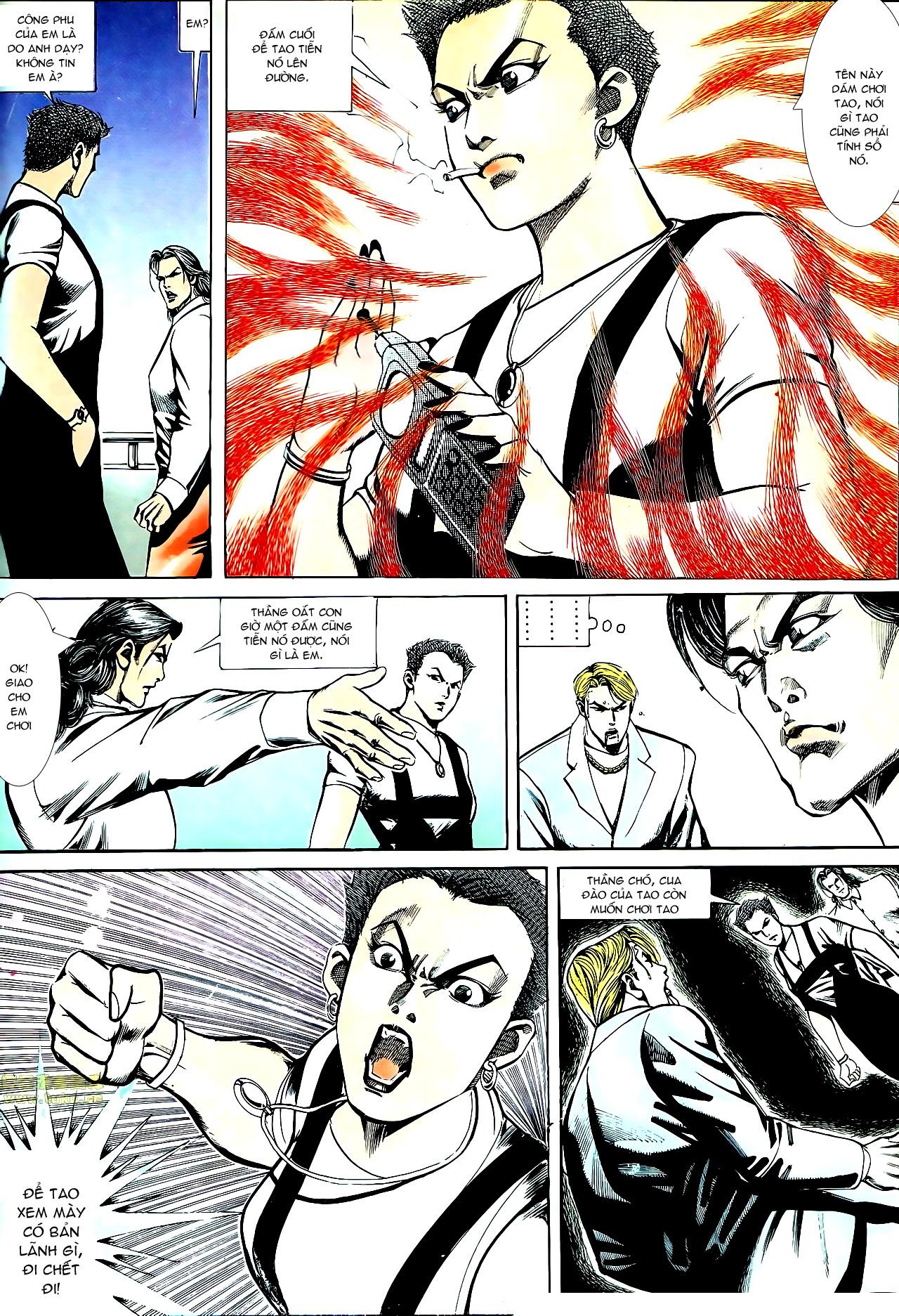 Người Trong Giang Hồ chapter 147: vĩnh biệt kk trang 23