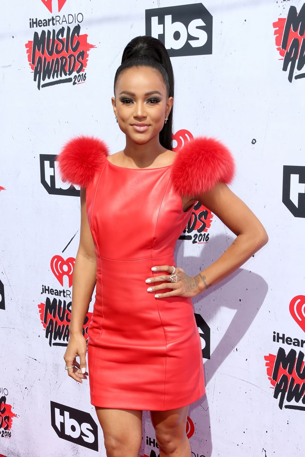 Karrueche Tran attends iHeartRadio Music Awards 2016