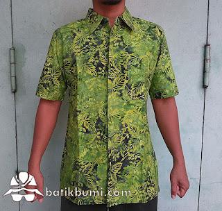 Kemeja Batik Modern Slimfit