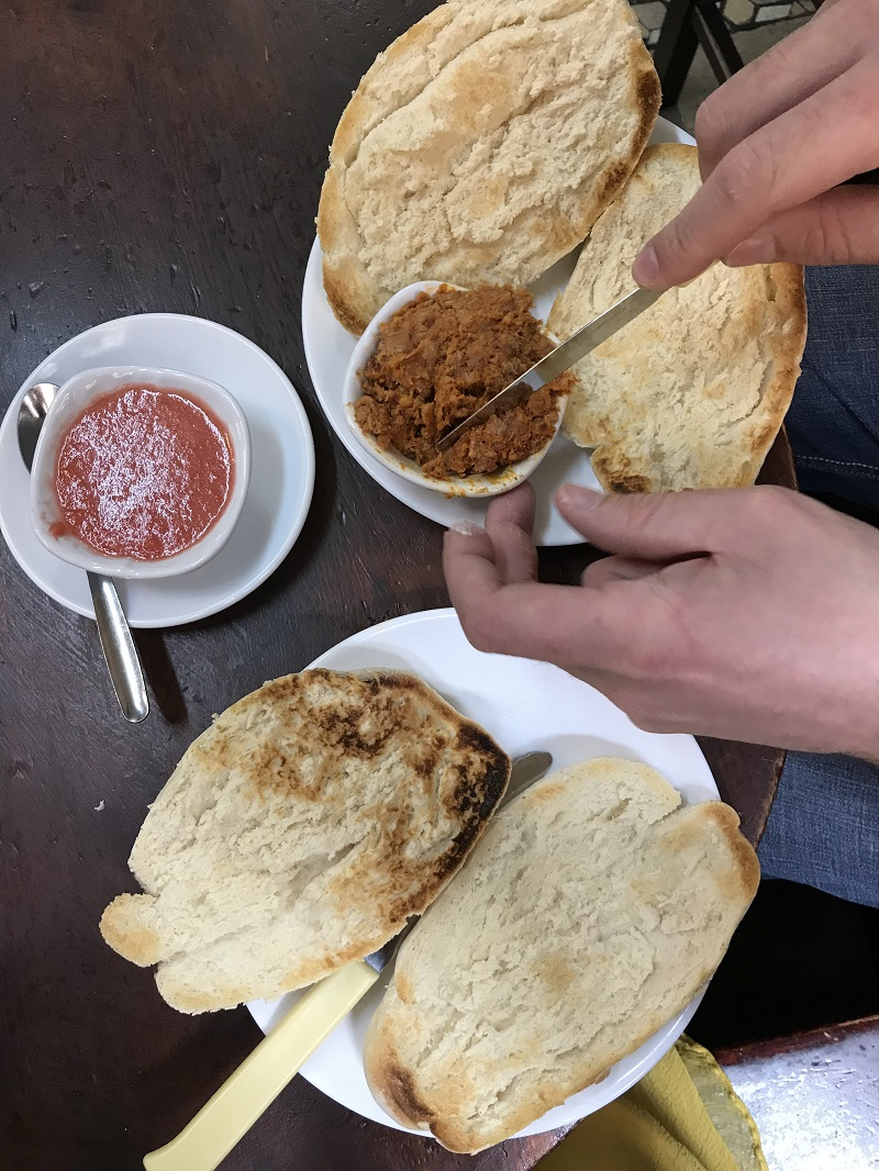 7 great places to eat in Seville - bodega santa cruz tostadas