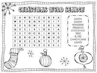 Christmas Word Search 7 Christmas Wordsearch For Kids Free