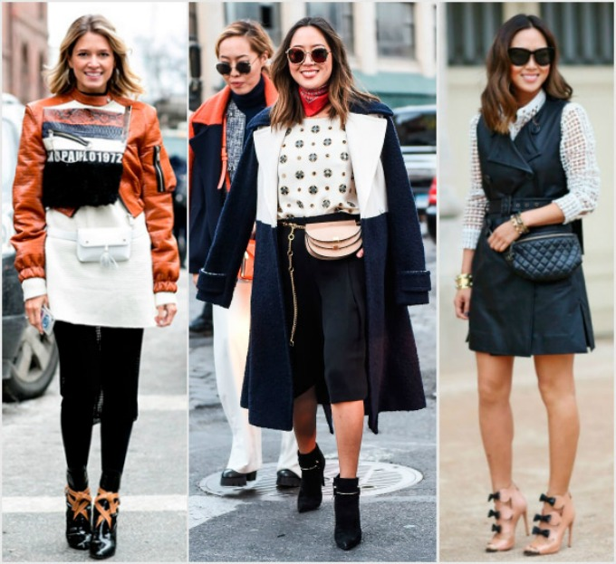 tendencia riñoneras street style