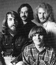 Creedence Clearwater Revival: Doug Clifford (drums), Stu Cook (bass), John Fogerty (lead vocals, lead guitar), Tom Fogerty (rhythm guitar)