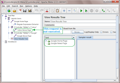 example of If Controller in jmeter