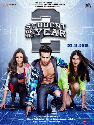 Student Of The Year 2 (2019) Hindi 480p DVDScr x264 600mb