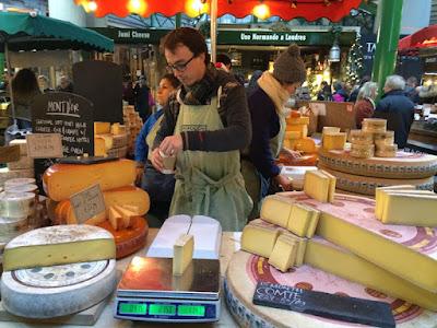 London Borough Market Cheese Stall