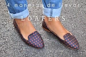 4 maneras de llevar... loafers