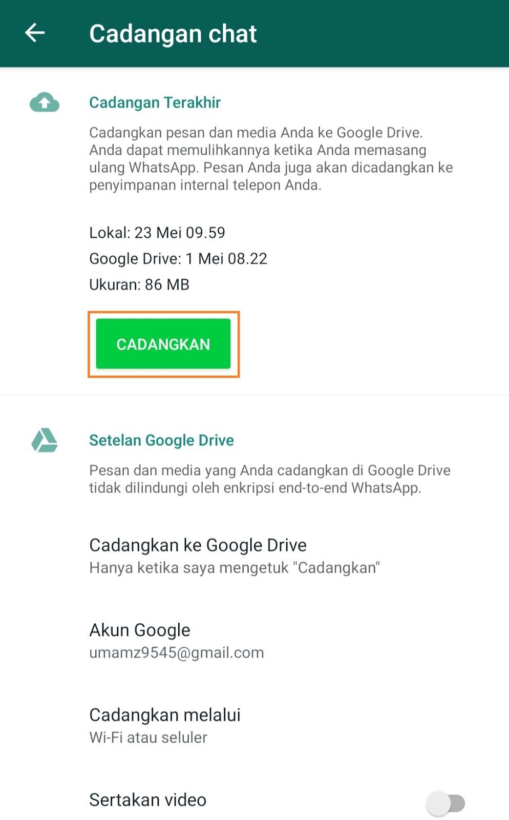Cara Memindahkan Whatsapp