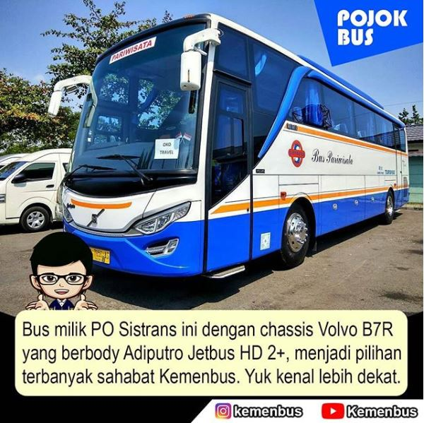 Chassis Volvo B7R Dari PO Sistrans