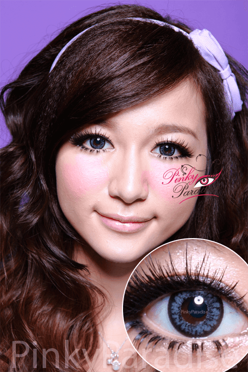 Hana SPC Hyper Circle Grey Circle Lenses (Colored Contacts)