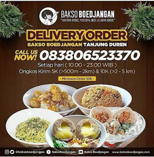 Review dan Harga Bakso Boedjangan Surabaya