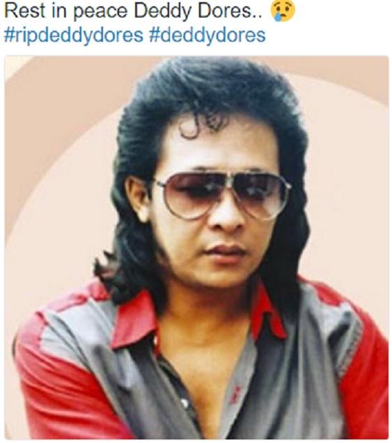 Akibat Penyakit Jantung: Deddy Dores Meninggal Dunia Tadi Malam