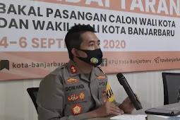 Doni Minta Para Bakal Pasangan Calon Kendalikan Pendukung Saat Mendaftar di KPU Banjarbaru